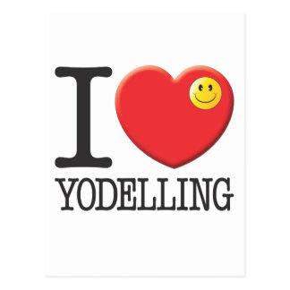 Yodelling Postcard