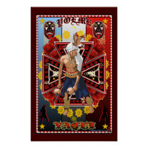 Yoeme Yaqui Deer Dancer Art print poster