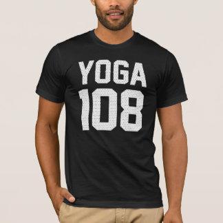 YOGA 108 - print white T-Shirt