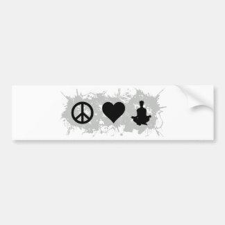 Yoga 1 bumper sticker