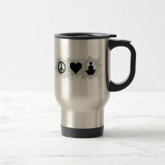 Yoga 1 15 oz stainless steel travel mug