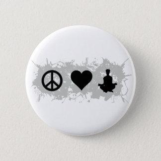 Yoga 1 pinback button