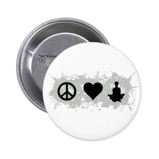 Yoga 1 pinback button