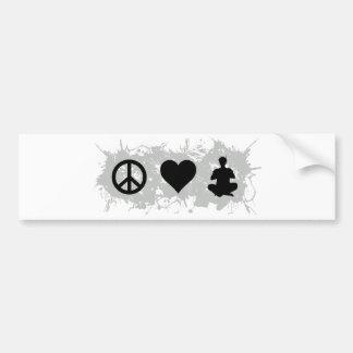 Yoga 2 bumper sticker
