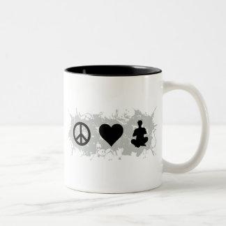 Yoga 2 Two-Tone coffee mug