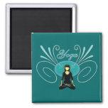 Yoga #3 imán de frigorifico