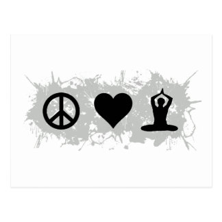 Yoga 3 postcard