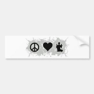 Yoga 5 bumper sticker