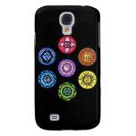 Yoga - 7 Chakras Energy Galaxy S4 Case