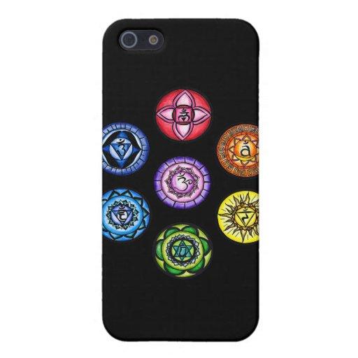 Yoga - 7 Chakras Energy iPhone 5 Cover