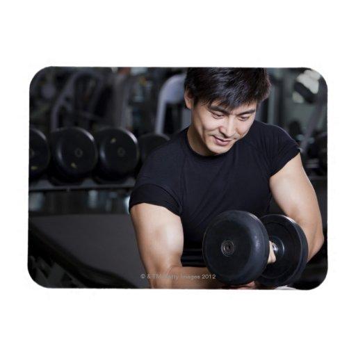 Yoga 7 rectangle magnet