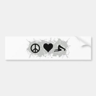 Yoga 8 bumper stickers