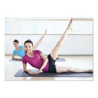 """Yoga 8 invitación 5"""" x 7"""""""