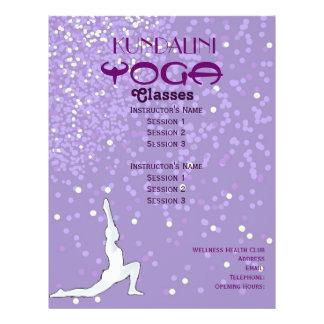 Yoga A4 flyer
