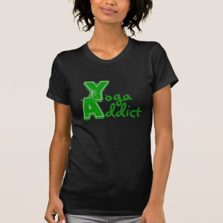 Yoga Addict - Funny Yoga T Shirt