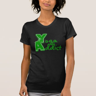 Yoga Addict - Funny Yoga T-Shirt (vintage look)