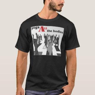 Yoga ALL the bodies! (B/W) T-Shirt