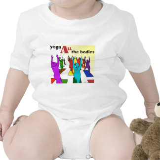 Yoga ALL the bodies! (color) Tee Shirt