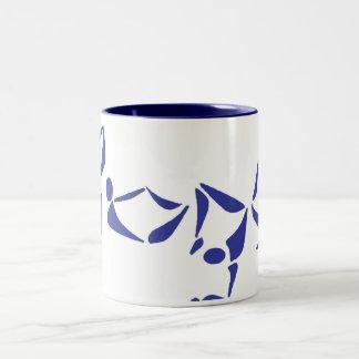 Yoga Alphabet Mug - Two-Tone