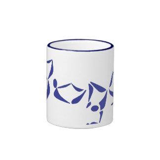 Yoga Alphabet - Ringer Mug