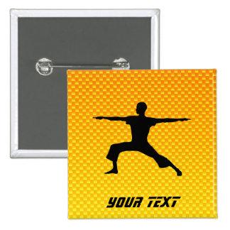 Yoga amarillo-naranja pins