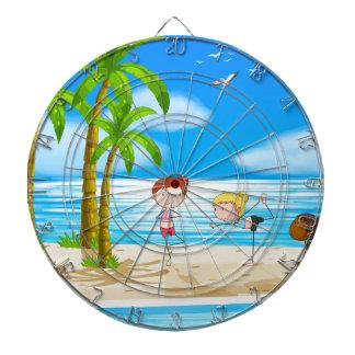 Yoga and beach dart boards