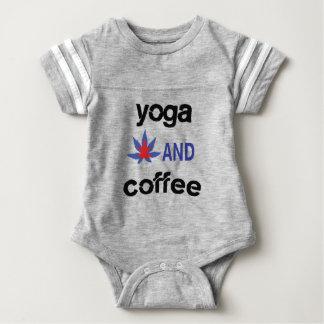 YOGA AND COFFEE BABY BODYSUIT