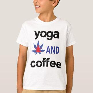 YOGA AND COFFEE T-Shirt