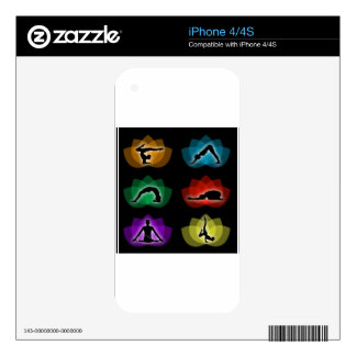 yoga and meditation iPhone 4S decal