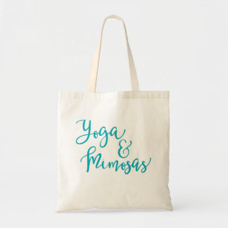 Yoga and Mimosas Tote Bag