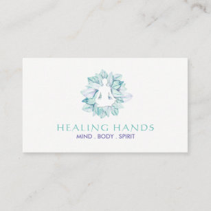 Reiki business cards templates zazzle yoga and reiki business cards reheart Gallery
