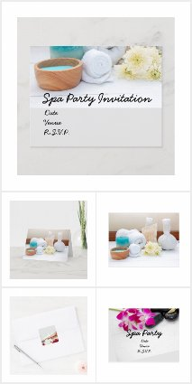 Yoga and Spa Party