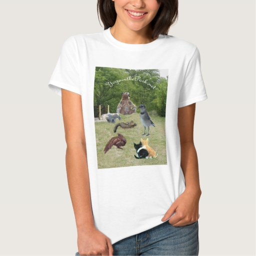 yoga animals in the park 2 text t shirt