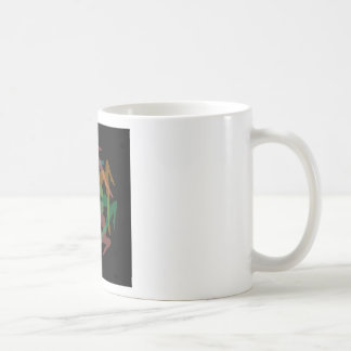Yoga art coffee mug