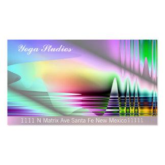 Yoga Arts Spiritual Massage Reiki Business Cards