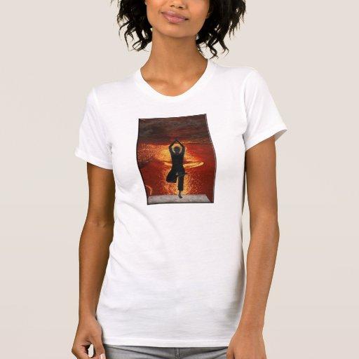 yoga at sunrise T-Shirt
