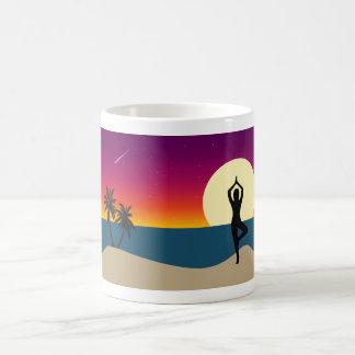 Yoga at Sunset Coffee Mug