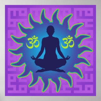 Yoga Aum Posters