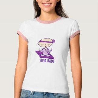 Yoga babe t-shirt