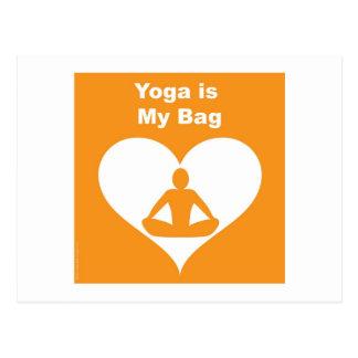 Yoga Bag Postcard