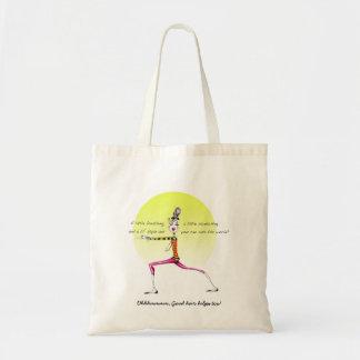 Yoga bag with funny yoga humor