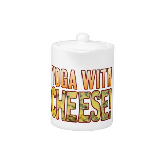 Yoga Blue Cheese Teapot