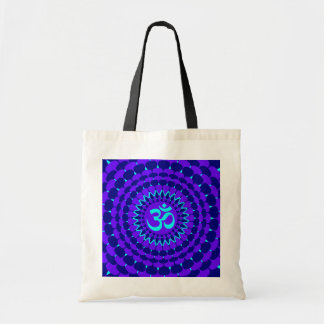Yoga Blue Purple Mandala Bags