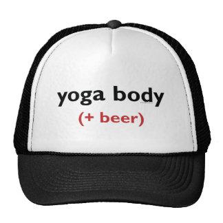 Yoga Body (+ beer) Light apparel Trucker Hats