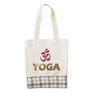 Yoga Bolsa Tote Zazzle HEART