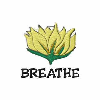 Yoga Breathe Embroidered Women's T-Shirt