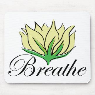 Yoga Breathe Gift Mouse Pad