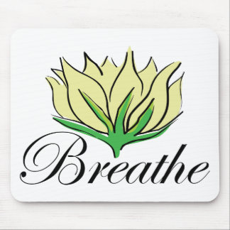 Yoga Breathe Gift Mouse Pads