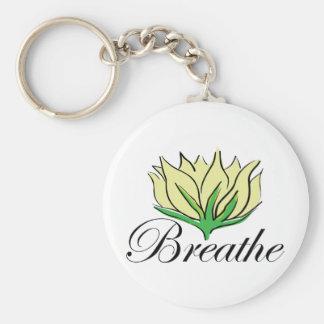 Yoga Breathe Keychain
