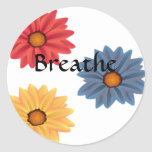 Yoga Breathe Sticker